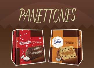 Panettones Nestlé 2017
