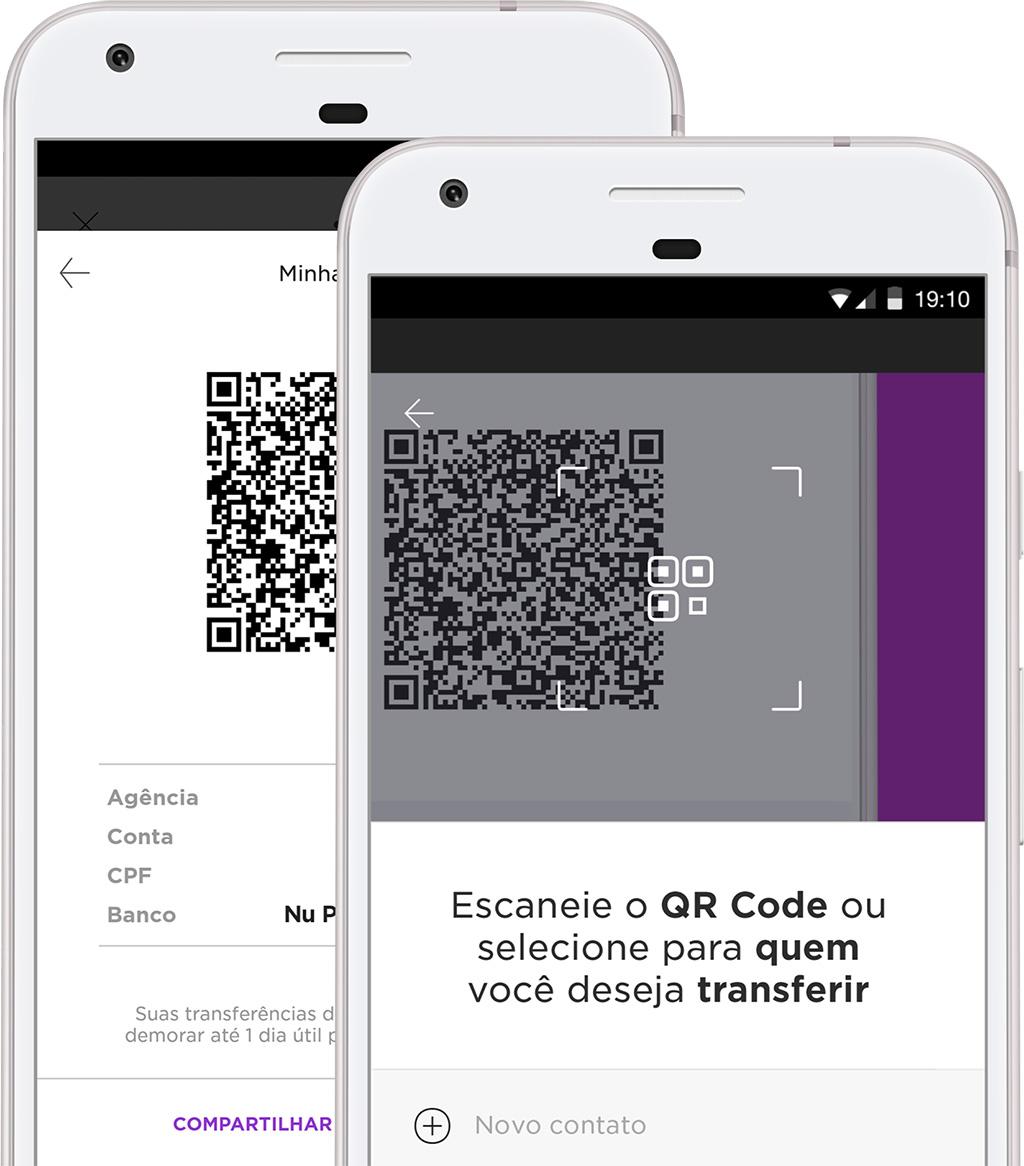 Transferência NuConta QR Code