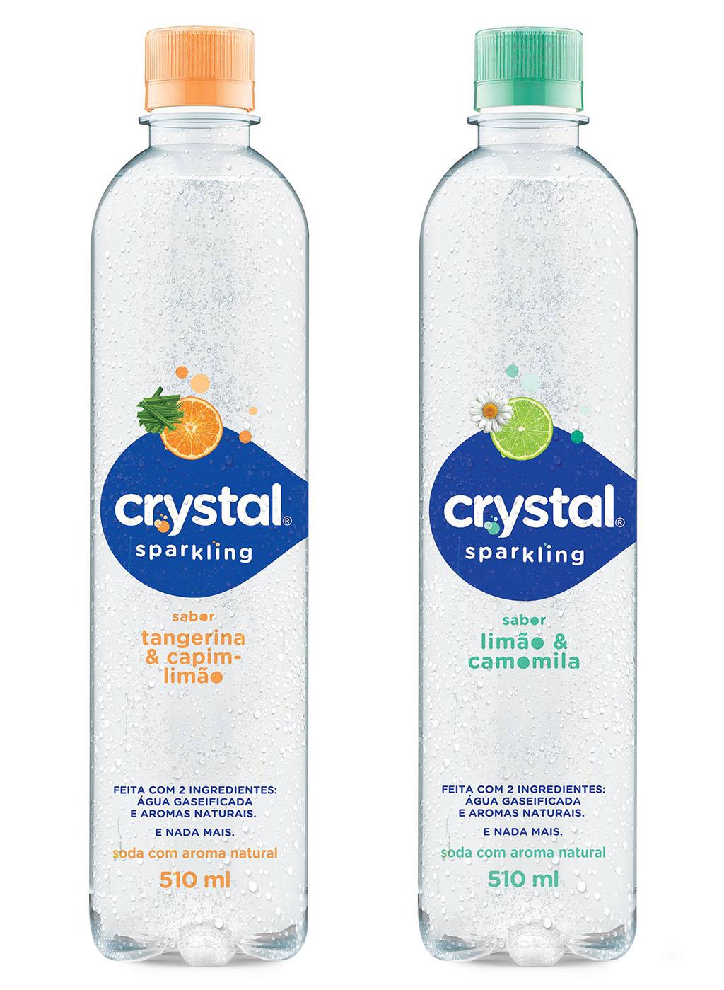 Crystal Sparkling Coca-Cola Brasil Sabores