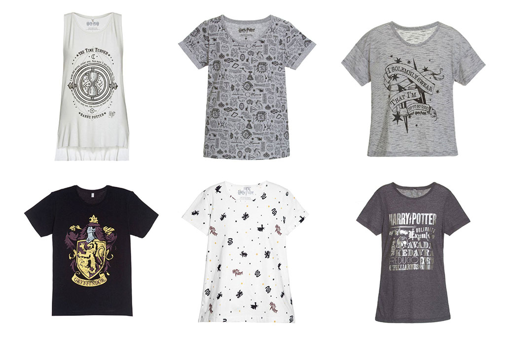 Camisetas Femininas Harry Potter Riachuelo