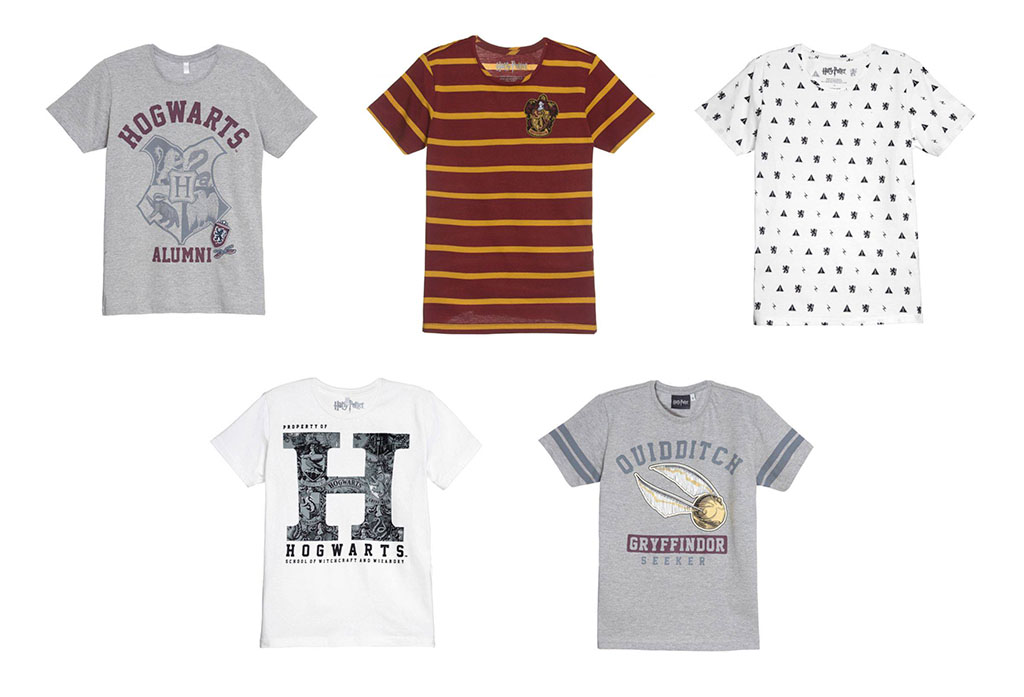 Camisetas Masculinas Harry Potter Riachuelo
