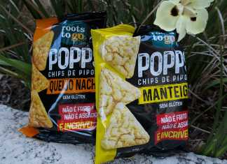 Chips de Pipoca Popps Roots to Go
