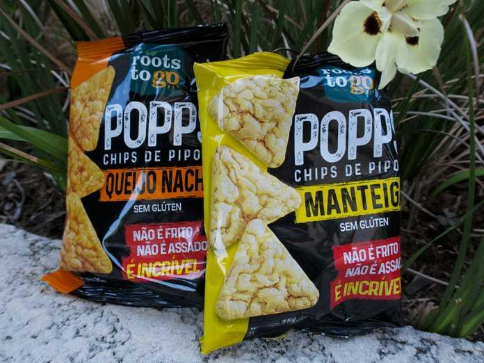 Chips de Pipoca Popps Roots to Go