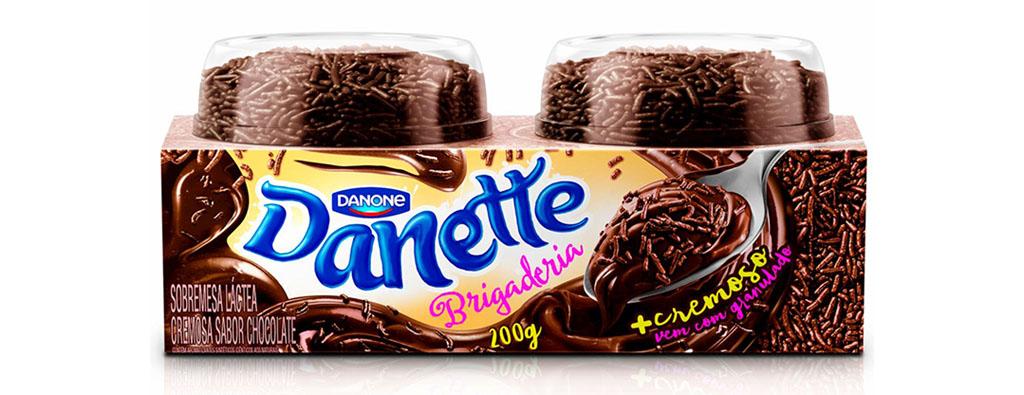 Danette Danone Brigaderia