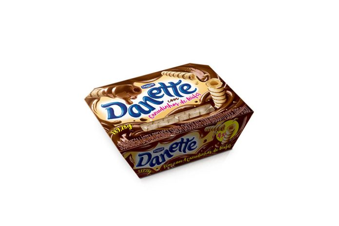 Danette Danone Novo Visual e Sabores