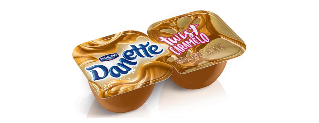 Danette Danone Twist Caramelo