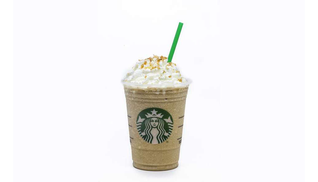 Caramelo Brûlée Frappuccino Starbucks