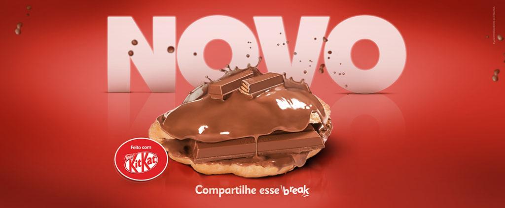 Croissant KitKat Croasonho