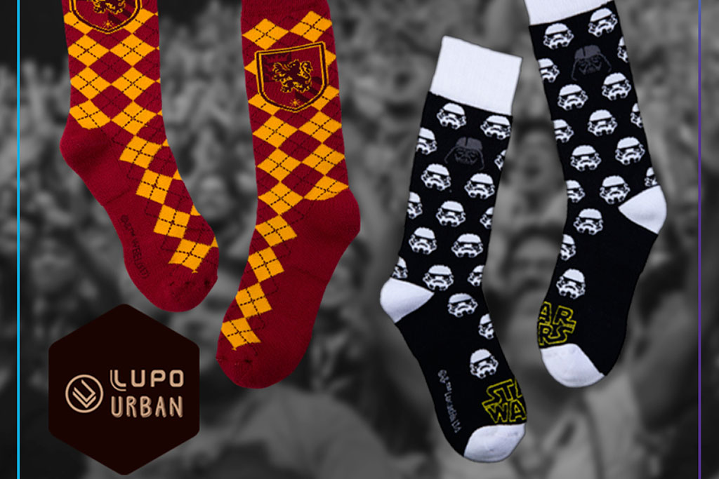 65d8ac690 Pra pirar! Lupo lança coleção de meias inspiradas em Star Wars e ...