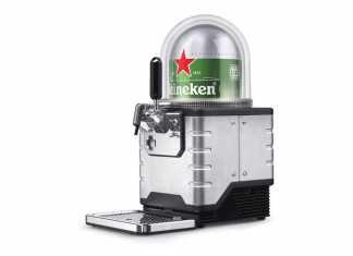 """Máquina """"Expresso"""" Heineken"""