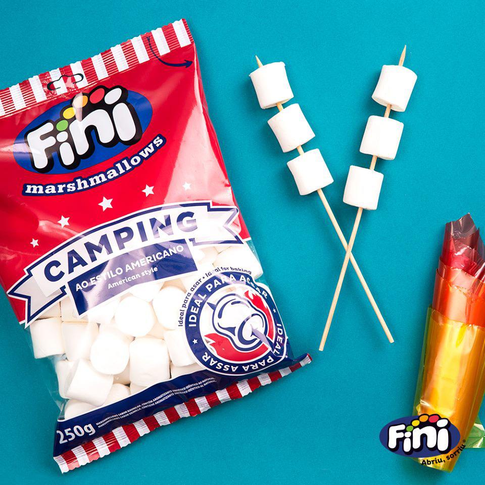 Marshmallows Camping Fini