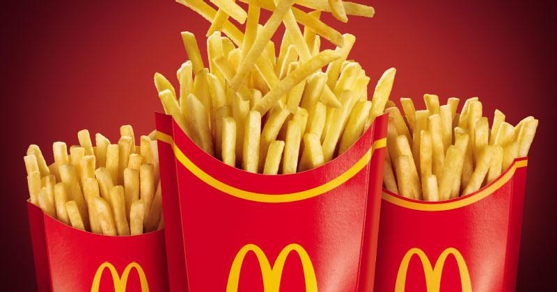 McFritas Mega Família McDonald's