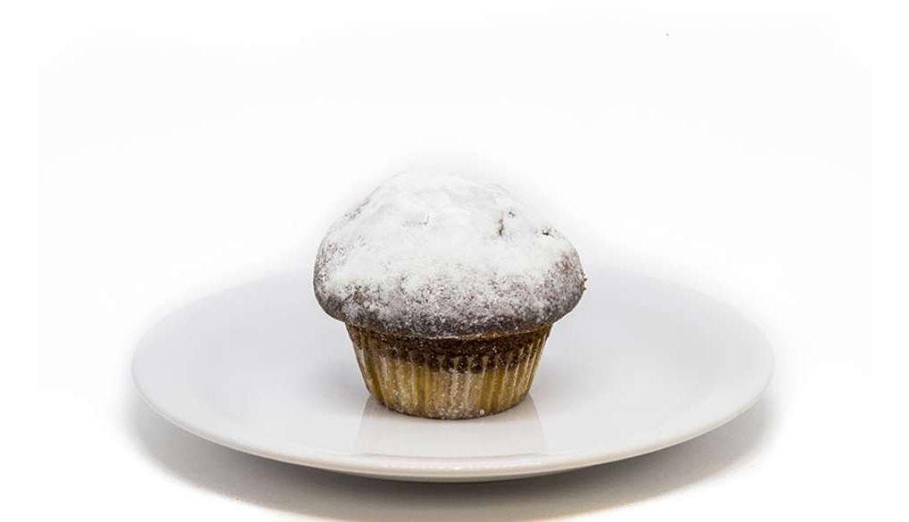 Muffin de Natal Starbucks