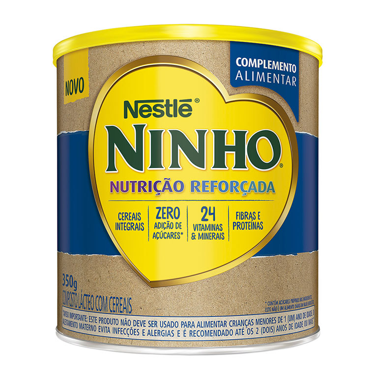 Ninho Nutrição Reforçada Nestlé detalhes