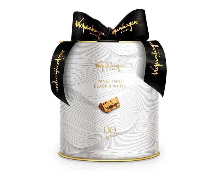 Panettone Black and White 700g Kopenhagen