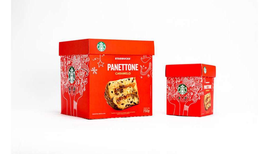 Panettone Caramelo Starbucks