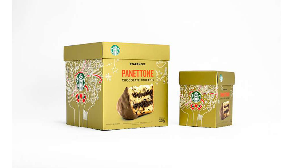 Panettone Chocolate Trufado Starbucks
