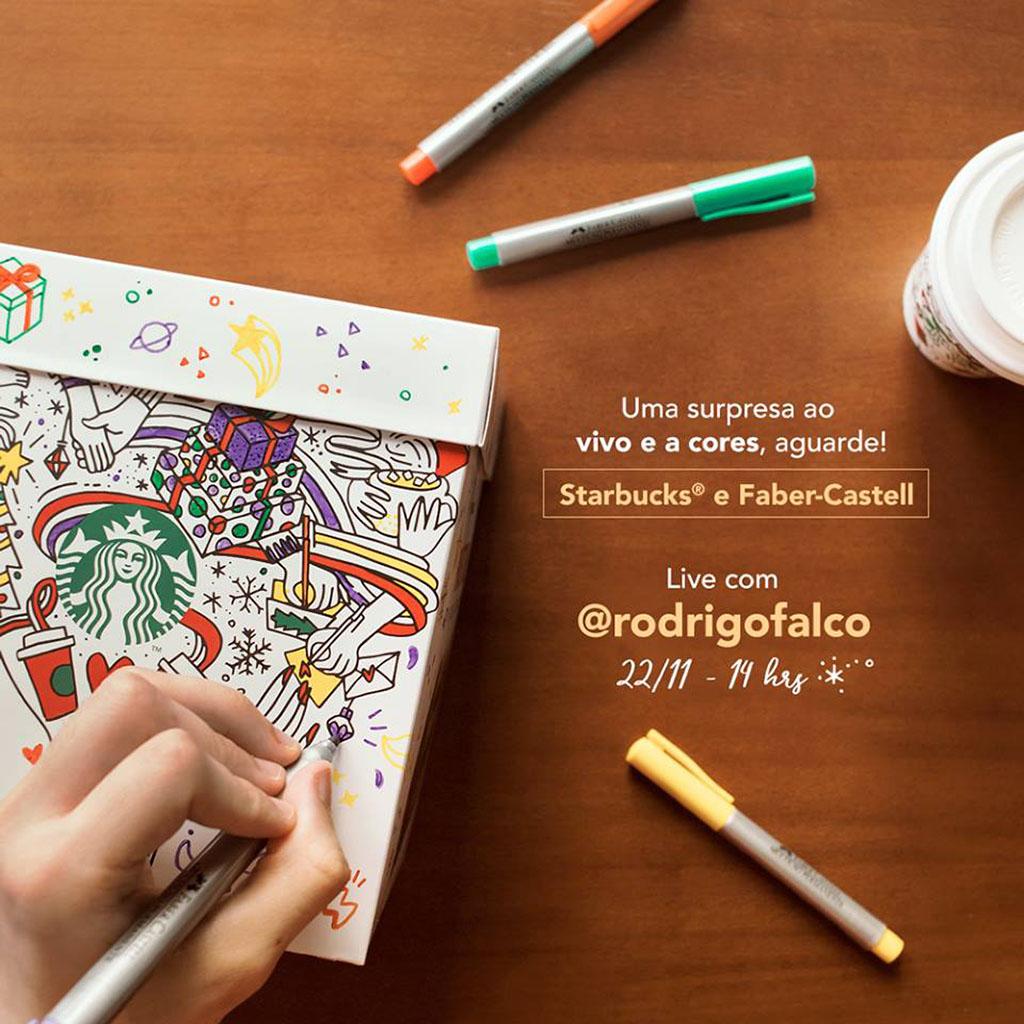 Panettone Starbucks + Faber-Castell 2