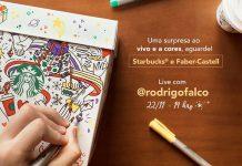 Panettone Starbucks + Faber-Castell