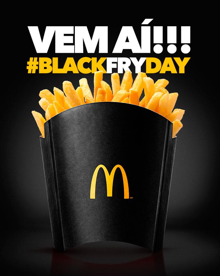 Refil McFritas BlackFryday McDonald's