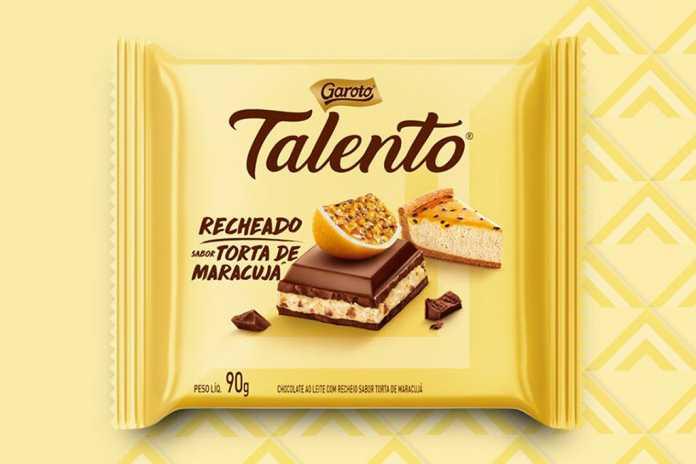Talento Recheado Torta de Maracujá