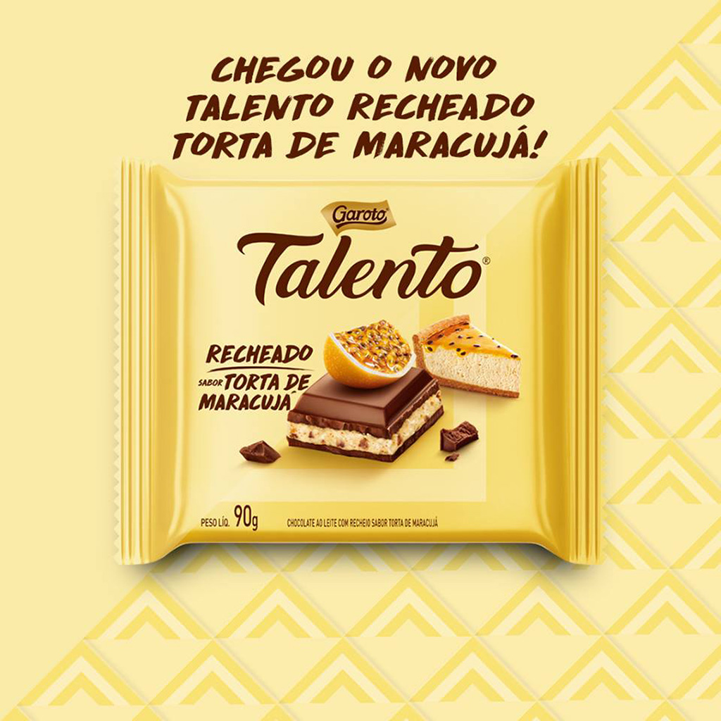Talento Recheado Torta de Maracujá Detalhes