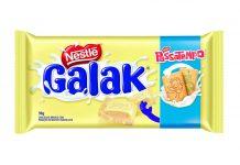 Barra de chocolate Galak Passatempo Nestlé 98g