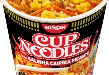 Cup Noodles Galinha Caipira Picante capa