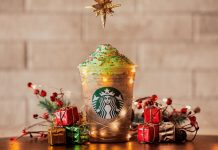Frappuccino & Mocha Árvore de Natal Starbucks