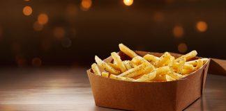 Fritas Parmesão e Alho McDonald's Canadá