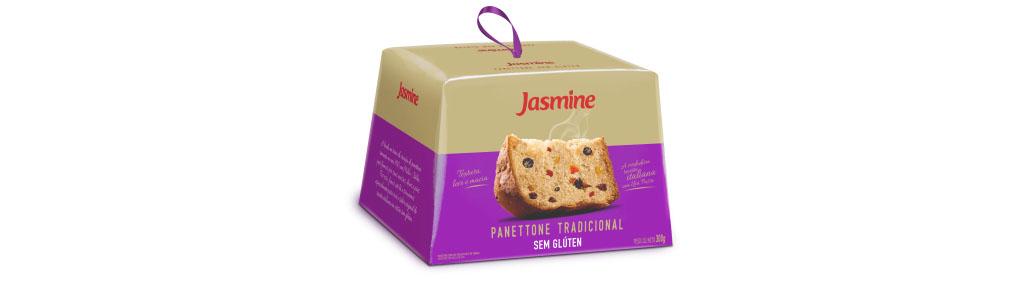 Panettone Jasmine tradicional sem glúten, 300g
