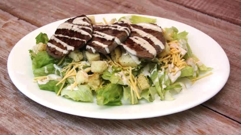 Caesar Salad Mignon Grelhado Madero
