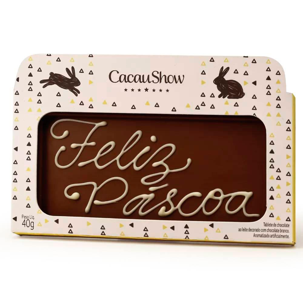 Chocoarte Feliz Páscoa - 40g Cacau Show