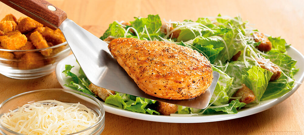 Grilled Chicken Caesar Salad Outback