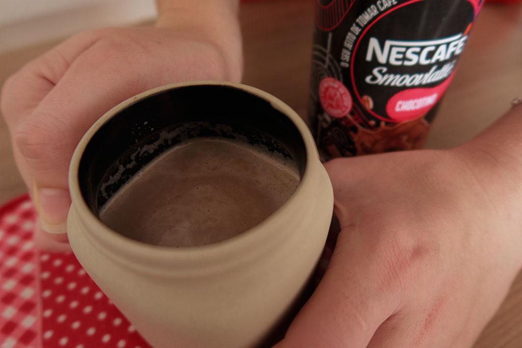 Nescafé Smoovlatté Chocotino na Caneca