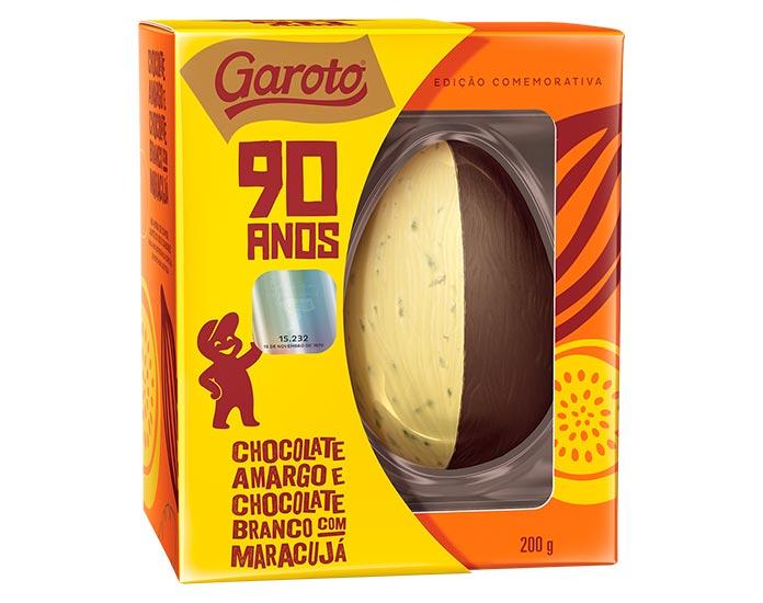 Ovo de Páscoa 90 Anos Garoto