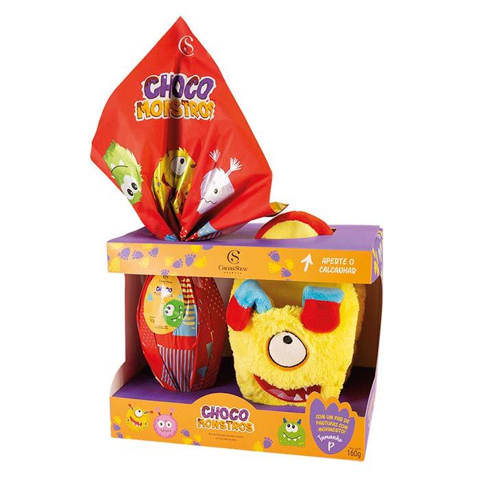 Ovo de Páscoa Choco Monstros Cacau Show 160g