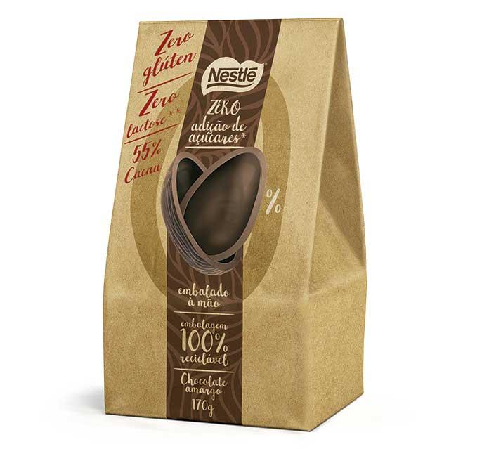 Ovo de Páscoa Classic Zero Açúcares, Zero Lactose e Zero Glúten