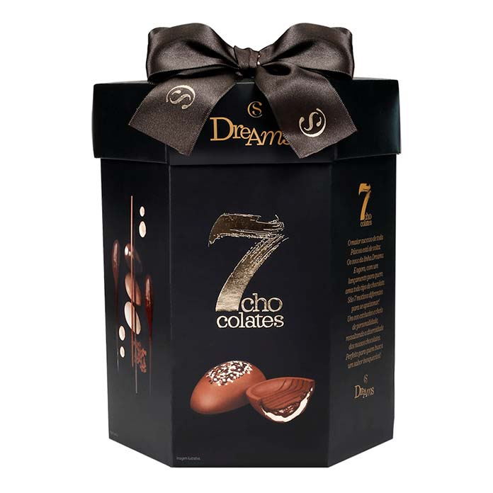Ovo de Páscoa Dreams 7 Chocolates Cacau Show 400g