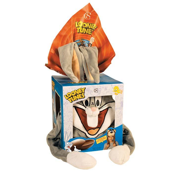 Ovo de Páscoa Looney Tunes Pernalonga Cacau Show 160g