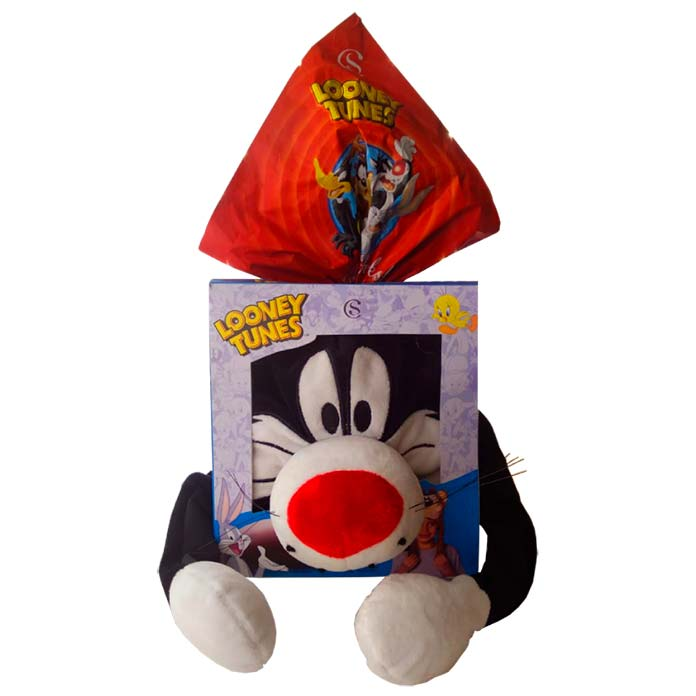 Ovo de Páscoa Looney Tunes Frajola Cacau Show 160g