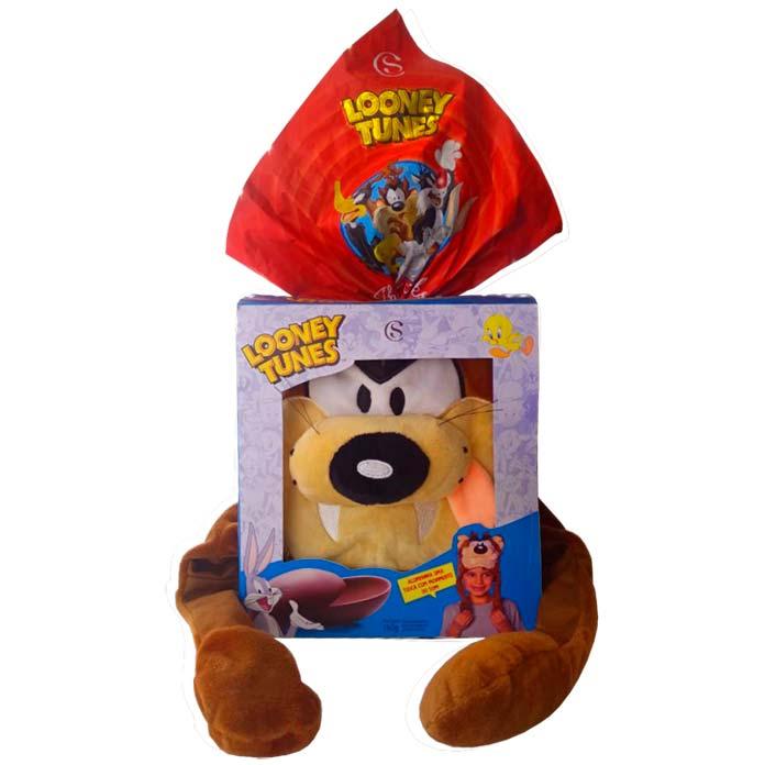 Ovo de Páscoa Looney Tunes Taz Cacau Show 160g