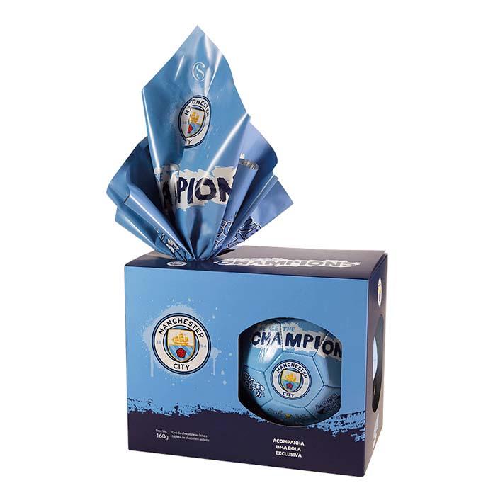 Ovo de Páscoa Manchester City Cacau Show 160g