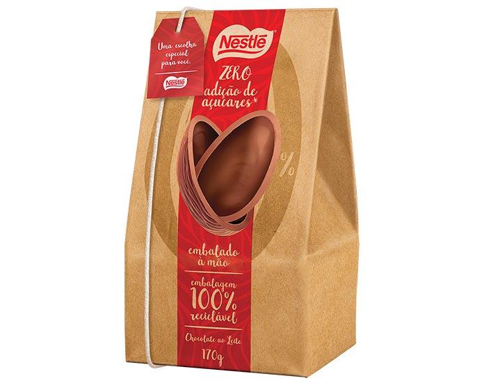 Ovo de Páscoa Zero Adição de Açúcar Nestlé