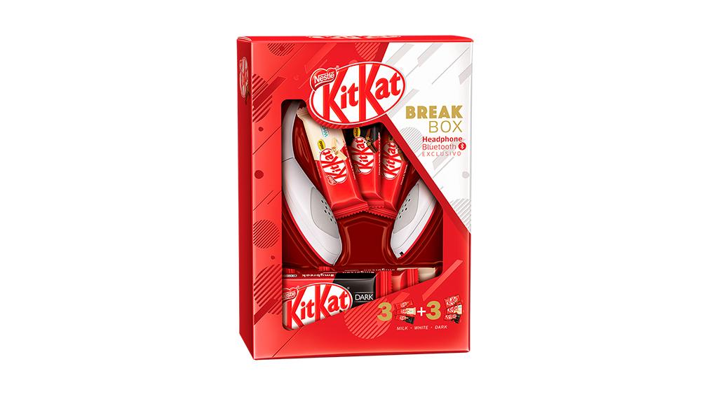 Ovo KitKat com Headphone Nestlé