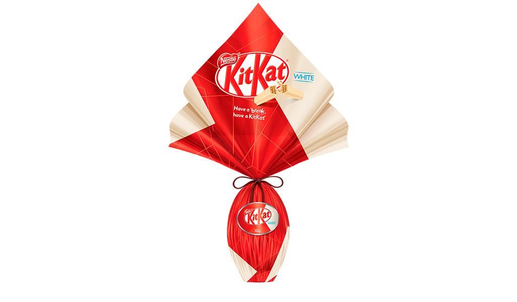 Ovo KitKat White 313g Nestlé