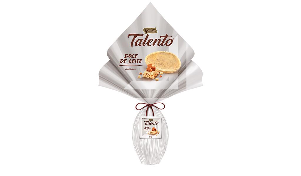 Ovo Talento Doce de Leite 350g Garoto