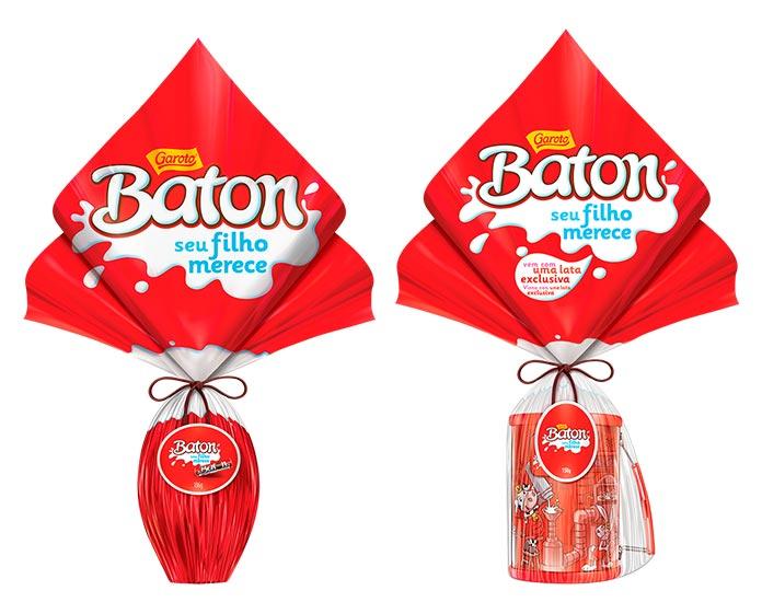Ovos de Páscoa Baton Garoto 2019