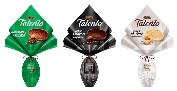 Ovos de Páscoa Talento Garoto 2019