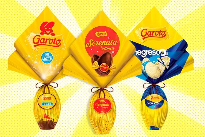 Ovos de Páscoa 2018 Garoto